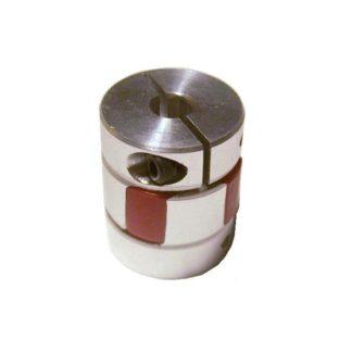 Accouplement flexible aluminium + élastomére